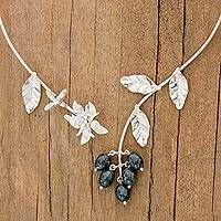 Silver Earrings With Pearl Silver Earrings, Drop Earrings, Sterling Silver Rings, Jewelry Gifts, Artisan, Pearls, Floral, Crafts, Jade