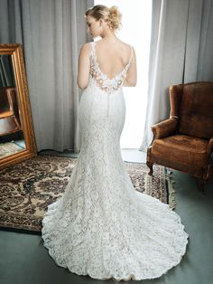 Femme by Kenneth Winston Style 3399 | romantic lace bridal dress | gorgeous gowns for our curvy brides | designer plus-size wedding gowns