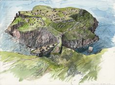 Tintagel in about 700