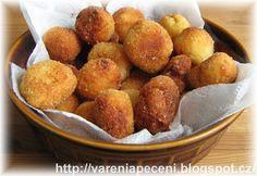 Vaření a pečení: Domácí bramborové krokety Pretzel Bites, Pasta, Bread, Cooking, Ethnic Recipes, Ds, Food, Kitchen, Eten
