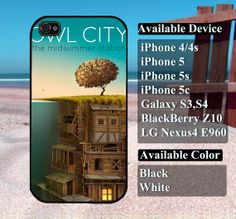 owl city band album cover case  iPhone 4/4s iPhone5 by vallenshop, $13.50