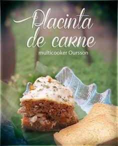 Multicooker Oursson: placinta cu carne si mozarella