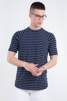 Longline Raglan Mariniere T-Shirt