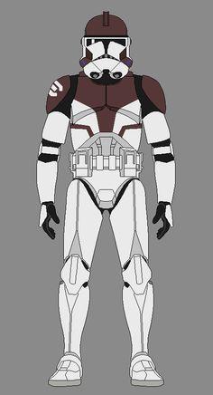 Breakout Squad - Trooper by JackAubreySW Star Wars Pc, Star Wars Fan Art, Star Wars Clone Wars, Star Wars Pictures, Star Wars Images, Star Wars History, Star Wars Painting, Star Wars Drawings, Galactic Republic