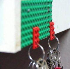 Cute Lego key holder