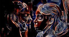"""Harlem Redux L1 Artificial Intelligence 56"""" x 30"""""""