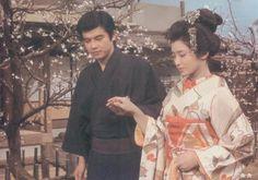 Tomokazu Miura(三浦友和), Momoe Yamaguchi(山口百恵)/ Shunkinsho 春琴抄 1976年