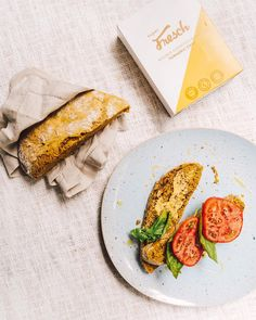Super Fresch Turmeric Bread 💛 ~ Whether it's tomatoes, mustard and basil or your favourite nut butter - this delicious turmeric bread tastes amazing with anything ✨ .and you won't believe how easy it is to make 😉 Beauty Without Cruelty, Food Industry, Nut Butter, Superfood, Turmeric, Shout Out, Great Recipes, Cape Town, Tomatoes