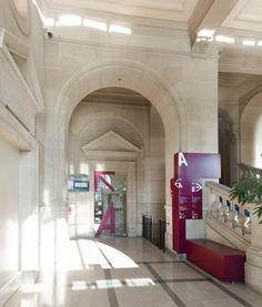 internship work // Restructuration de la Mairie XIIIe, Paris, Ellenamehl - Realisation