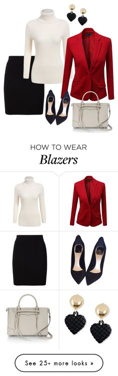 """Basics #2"" by dazzling-dazed-dayz on Polyvore featuring Moschino, T By Alexander Wang, Christian Dior and Rebecca Minkoff"