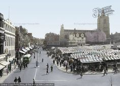 Norwich Market, 1938. Discover the history of Norwich as it was captured at the time through old pictures of Norwich dating back to 1860. http://www.historic-newspapers.co.uk/local/norfolk/norwich/?utm_source=pinterest&utm_medium=post#h_ff_1=&n=FPN&m=API&s=