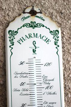 Amazing. Enamel Sign. French Vintage Pharmacy by LePasseRecompose
