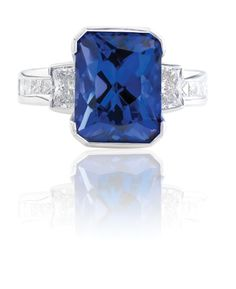 Tanzanite Coloured Stone Rings, Gemstone Colors, Wedding Rings, Jewels, Engagement Rings, Gemstones, Diamond, Pretty, Enagement Rings