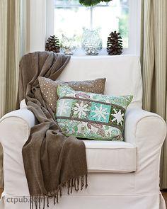 Snowflake Pillows
