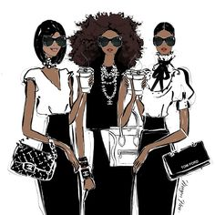 They're tough like diamonds and soft like pearls, they're my MONDAY COFFEE GIRLS!