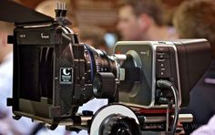 The new Black Magic Design Cinema Camera. The new Red