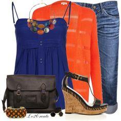 Cobalt & Orange 2