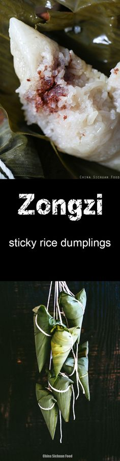 zongzi--Chinese sticky rice dumplings for dragon boat festival
