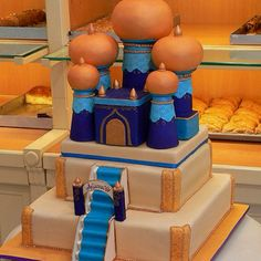 Aladdin theme cake!