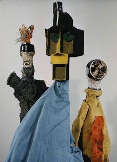 puppets by paul klee c.1920s