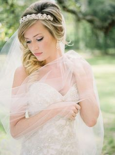 Gorgeous bridal session http://www.stylemepretty.com/2015/06/11/romantic-church-ruins-bridal-session/ | Photography: Holeigh V Photography - www.holeighvphotography.com  Read More: