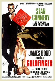 James Bond contra Goldfinger-- not the first Bond film, but the one that made Sean the real 007