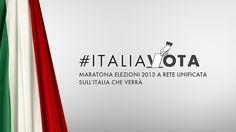 """Countdown per #Italiavota, la maratona """"a Rete Unificata"""" per capire la #politica che ci governerà. Una lunga diretta no-stop per seguire in tempo reale i risultati delle elezioni #politiche2013"""