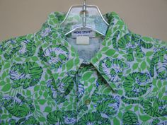 Vintage Lilly Pulitzer Size M Mens Stuff Green Tiger Print Men's Man's Shirt | eBay