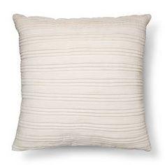 Cream Velvet Texture Throw Pillow - Threshold™ : Target