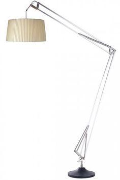 James Architect Floor Lamp   Arc Floor Lamp   Adjustable Floor Lamp |  HomeDecorators.com