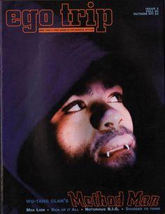 #46. Method Man (ego trip, 1994) - The 50 Greatest Hip-Hop Magazine Covers | Complex UK
