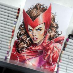 Scarlet Witch by David Yardin                              …