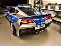TIKT Performance Reveals Carbon Fiber Corvette Police Car | automotive99.com