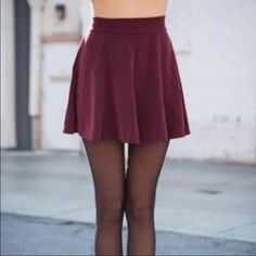 ✨SALE✨Brandy Melville Glenna dupe ✨CLOSET CLEAR OUT! SEND OFFERS BUT NO LOWBALLS✨not Brandy Melville but it is the perfect dupe for the Glenna skirt. maroon skater/circle skirt. it is piling but it's not noticeable unless you look closely. I will wash and lint roll before shipping :) fits XS, small, and medium.   tags: Brandy Melville free people American apparel anthropologie urban outfitters unif Brandy Melville Skirts Circle & Skater