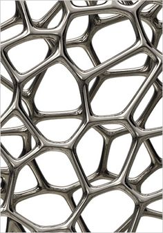 In 1997 Newson moved to London, where he set up Marc Newson Ltd as a larger studio capable of tackling more ambitious industrial projects. This abstract visual is an example of this.