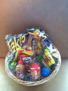 Mexican Candy Gift Basket , best basket ive ever seen