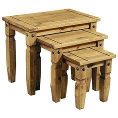 3-tlg. Satztisch-Set Rustic Corona Jetzt bestellen unter: https://moebel.ladendirekt.de/wohnzimmer/tische/satztische/?uid=cfa35b44-37a3-5604-98a9-9ec988a946b4&utm_source=pinterest&utm_medium=pin&utm_campaign=boards #tables #satztische #end #wohnzimmer #tische Bild Quelle: wayfair.de