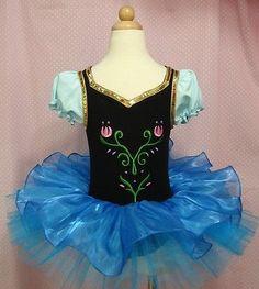 Girls Ballet Tutu Dancewear Party Skating Dress 2-8Y Kids Leotard Skirt Princess