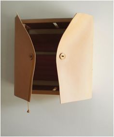 Leather Cabinet by David Ericsson