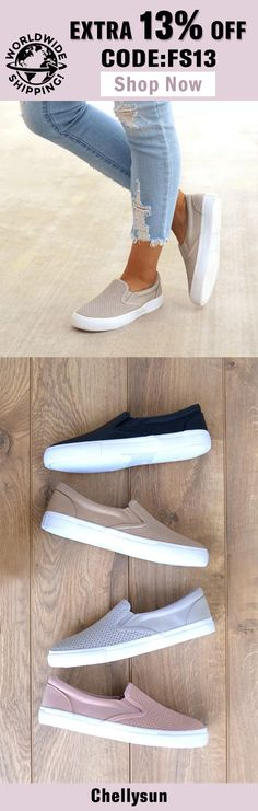 d5d05f81a57d Free Shipping Worldwide  amp  Extra 13% OFF! 2018 Most Comfortable slip on  sneakers