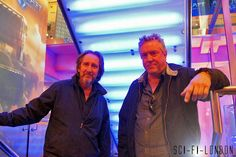 Sci-Fi London 9 : VFX Legends Bill Pearson and Steve Begg arriving at SC-FI-LONDON 9 Opening Night by Craig Grobler, via Flickr