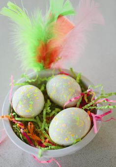 Decorate Easter Eggs, Glow in the Dark Easter Egg Hunt: Glow in the dark eggs