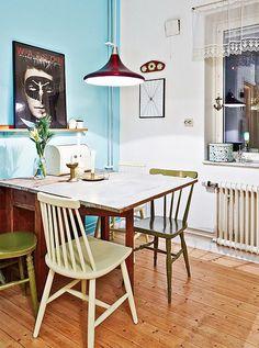 Les petites surfaces du jour : un deux pièces full vintage (via Bloglovin.com )