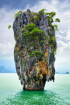 James Bond Island, Thailand James Bond Island is a famous landmark in Phang Nga Bay. It first found its way onto the international tourist map through its starring role in the James Bond movie 'The Man with the Golden Gun'.