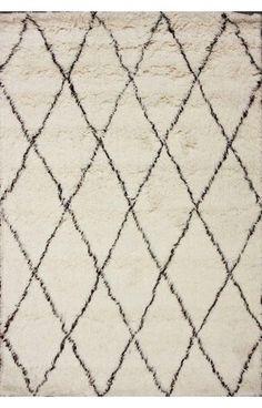 Anthropologie Restoration Industrial Hardware Style Moroccan Shag RUG NEW | eBay