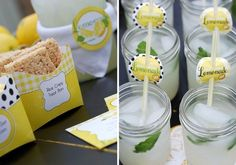 Printable Lemonade Party by paper & cake