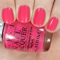 OPI Spoken From The Heart | Hello Kitty Collection | Peachy Polish