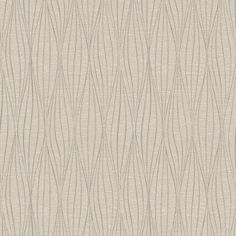 Cocoon Wallpaper in Silver and Grey by Antonina Vella for York Wallcoverings