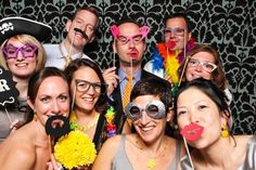 5. #Enjoying a Photo #Booth - 7 Fun Ideas for Your #Wedding Your #Guests Will #Love ... → Wedding [ more at http://wedding.allwomenstalk.com ]  #Libs #Treat #Bag #Ideas #Favor