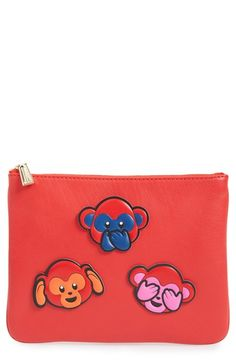 Rebecca Minkoff 'Chinese New Year' Monkey Sticker Set & Clutch available at #Nordstrom